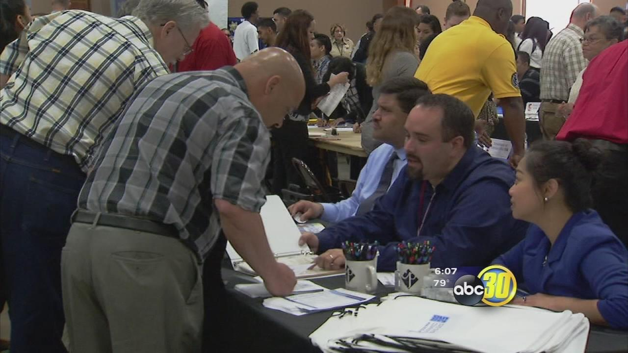 Madera County holds job fair as news of unemployment rate dips