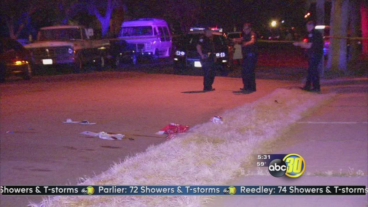 1 injured in Central Fresno shooting