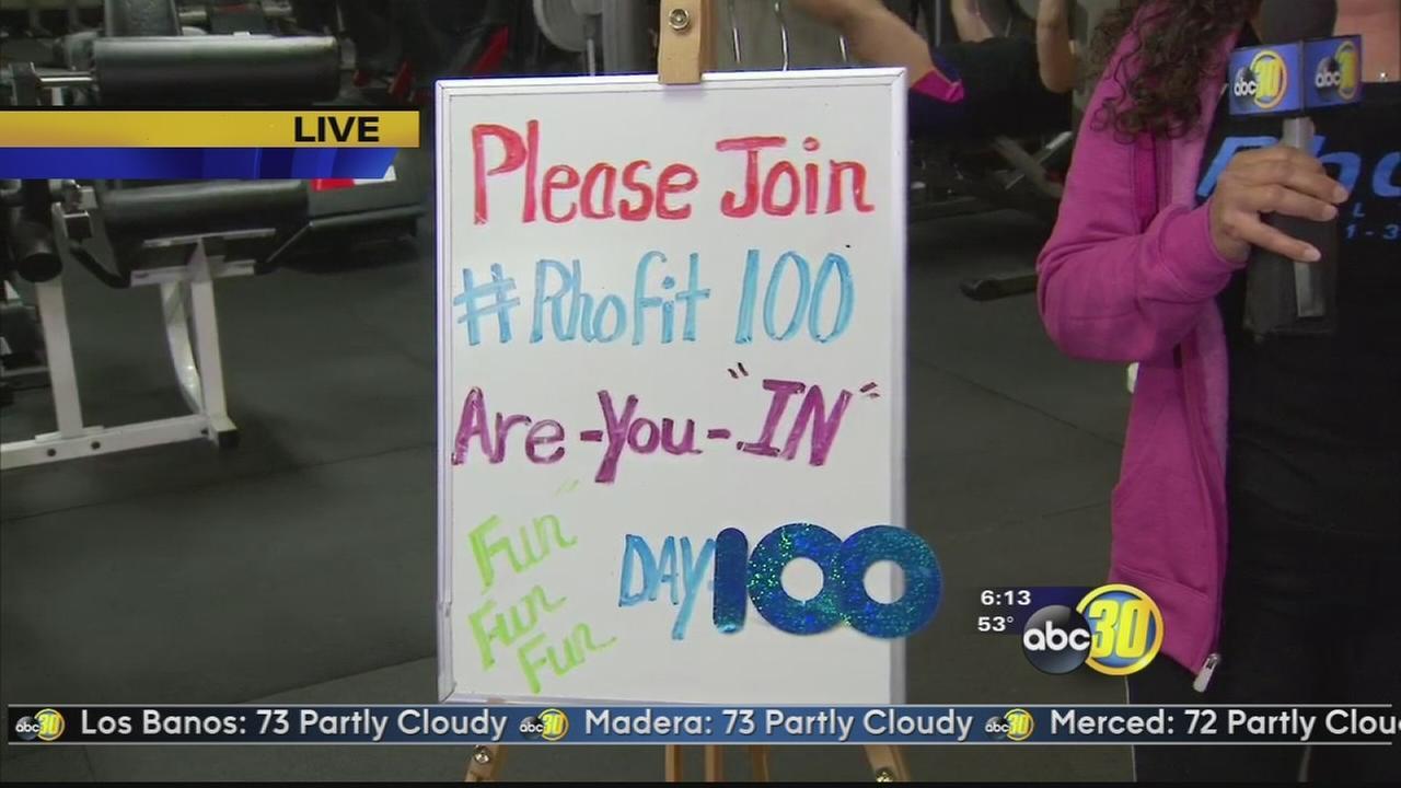 Rhondas 100 Day Challenge