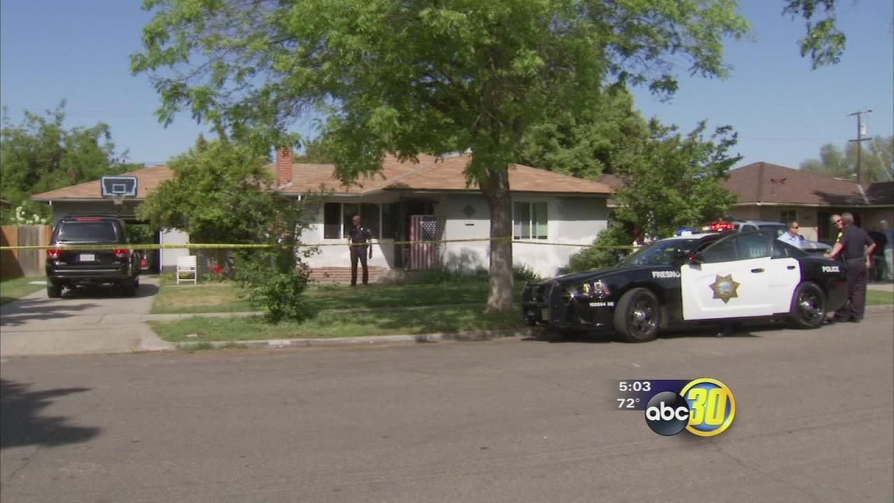 2 men hospitalized, 1 shot, and 1 man in custody after bizarre fight in Central Fresno