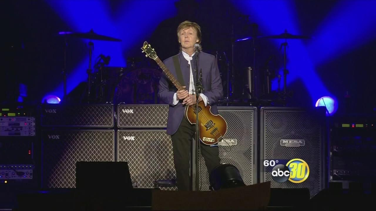 Paul McCartney packs the Save Mart Center for the first stop on his One-on-One tour