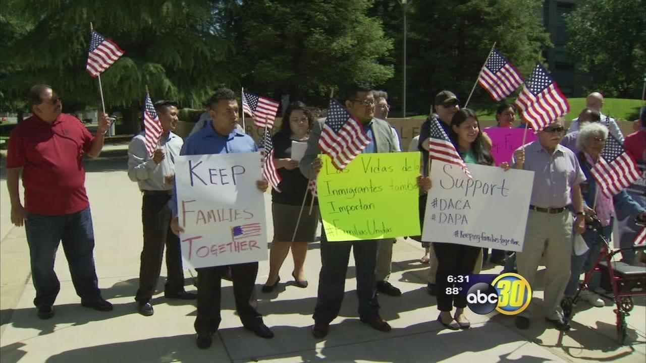 Valley families could be impacted by a Supreme Court hearing on immigration