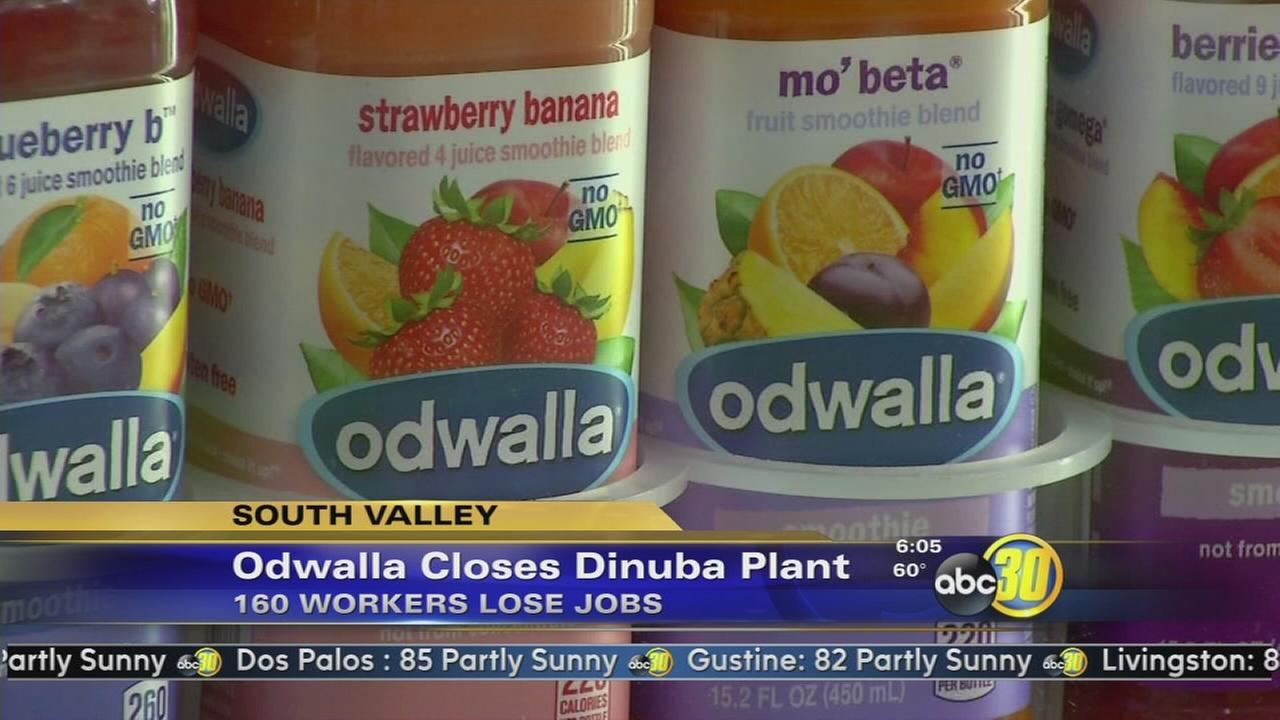 Coca-Cola moves Odwalla juice company out of Dinuba
