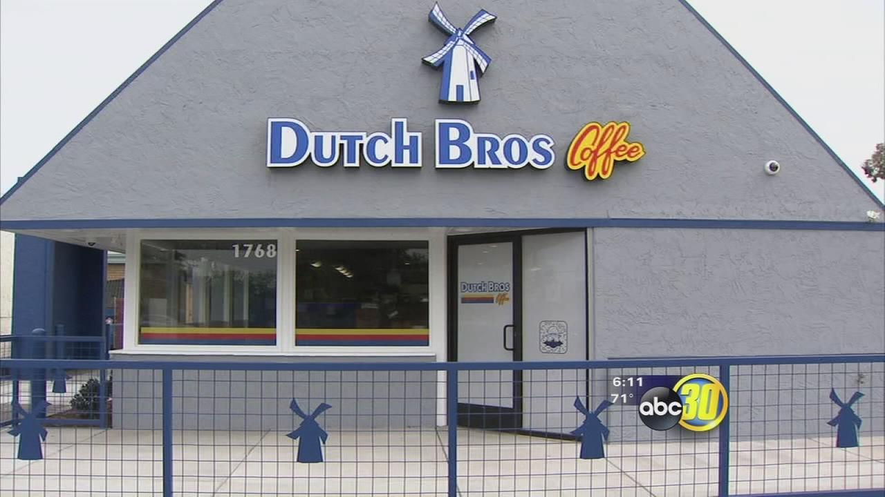Dutch bros opens new location in northwest fresno abc30 com