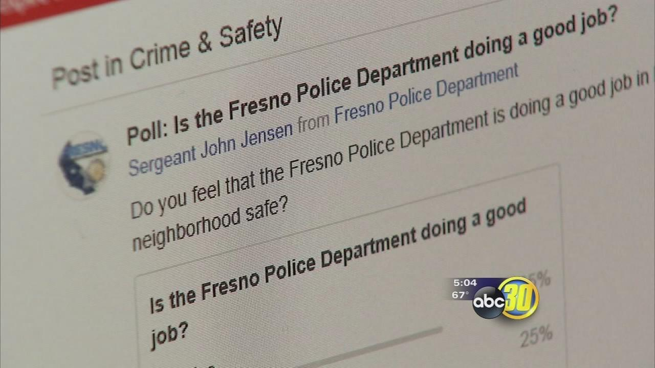 Fresno Police using app to find out from the public how they are doing