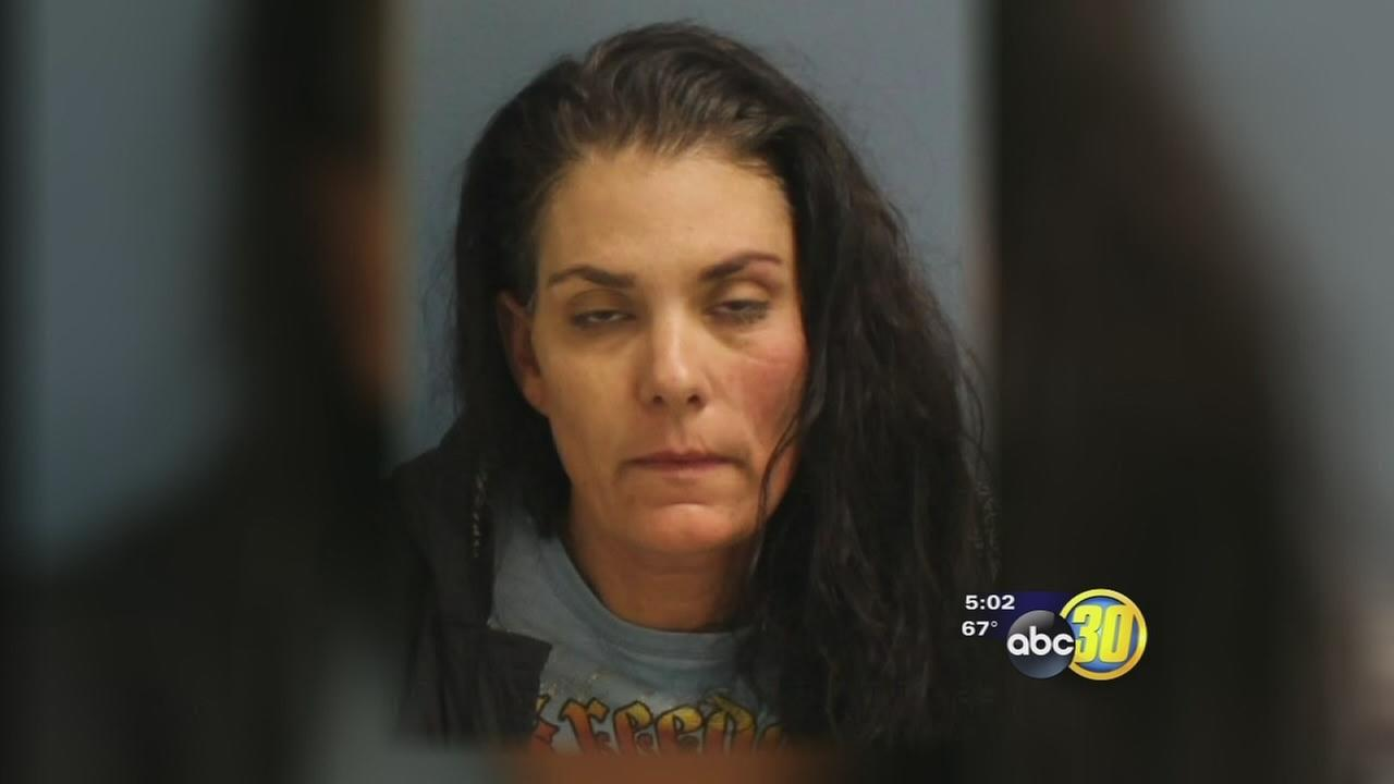 Woman arrested in Visalia after she led Sheriffs deputy on short pursuit that ended in gun fire