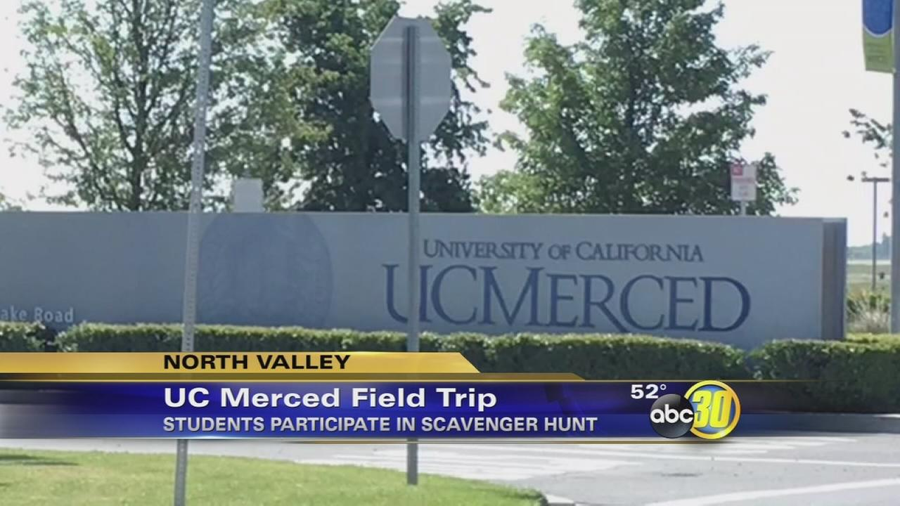 Cal-SOAP brings Hover Middle School student tour U.C. Merced