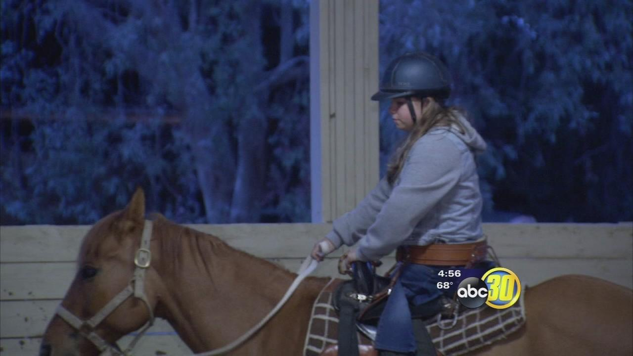 Non-profit therapy ranch in Clovis helping kids overcome obstacles one ride at a time