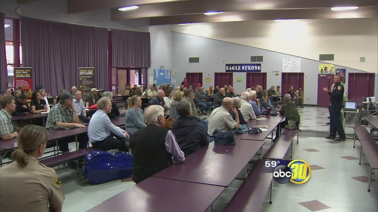 Meeting held in Prather to help those in wildfire areas protect their property