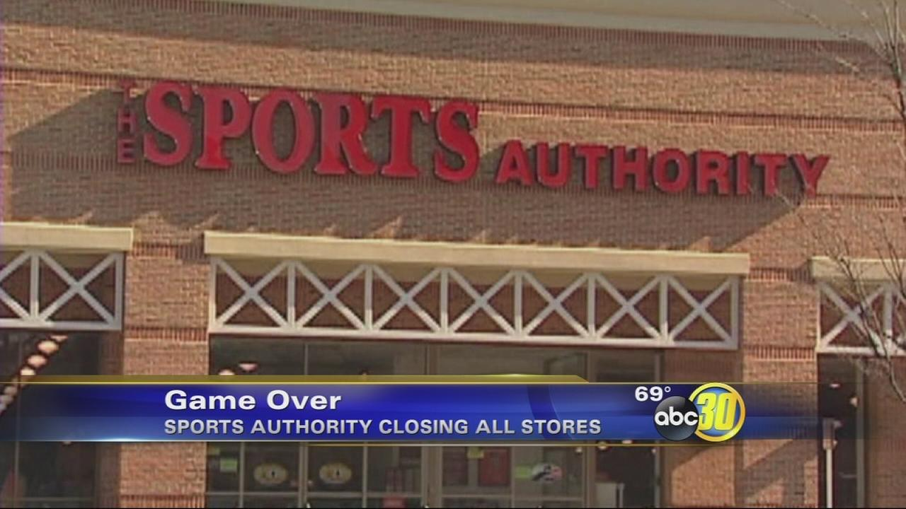 Sports Authority to close all stores
