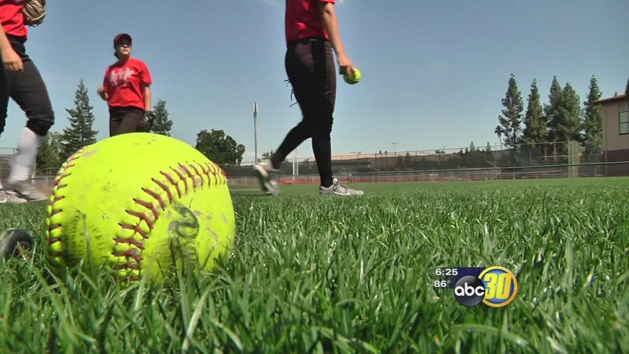 Fresno City softball team entering the playoffs