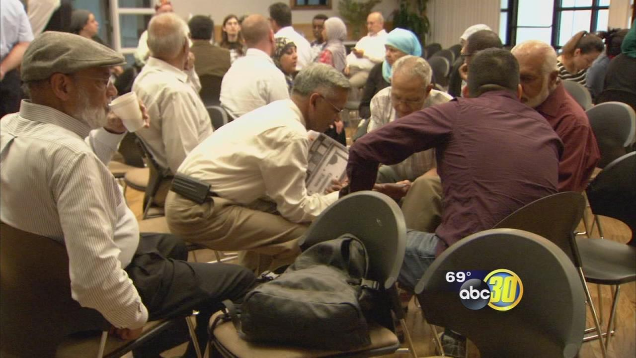 Local Muslim community gathered to discuss political concerns