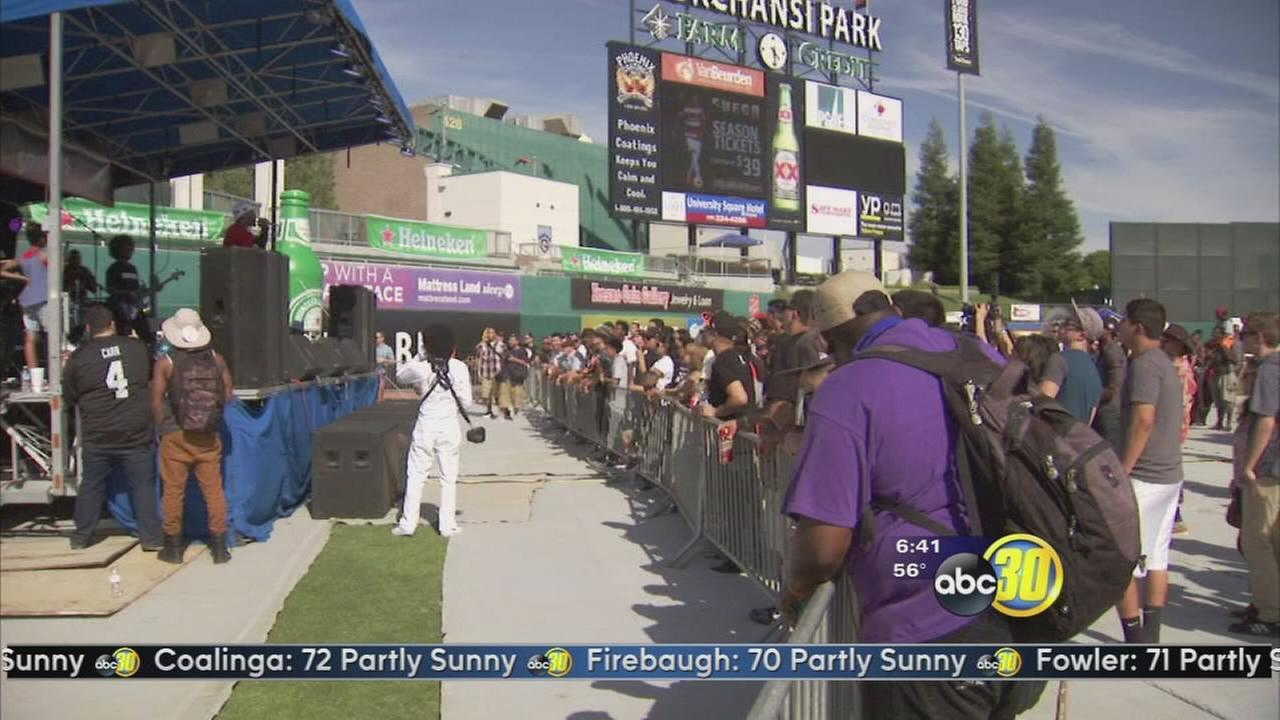Grizzly Fest brings music, fun to Chukchansi Park