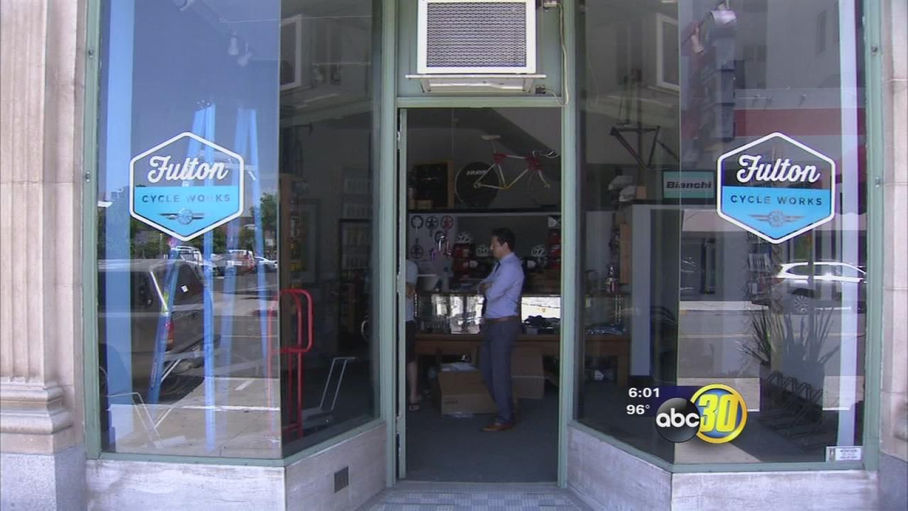 Owner of bicycle shop in Downtown Fresno looking for new location after break-ins