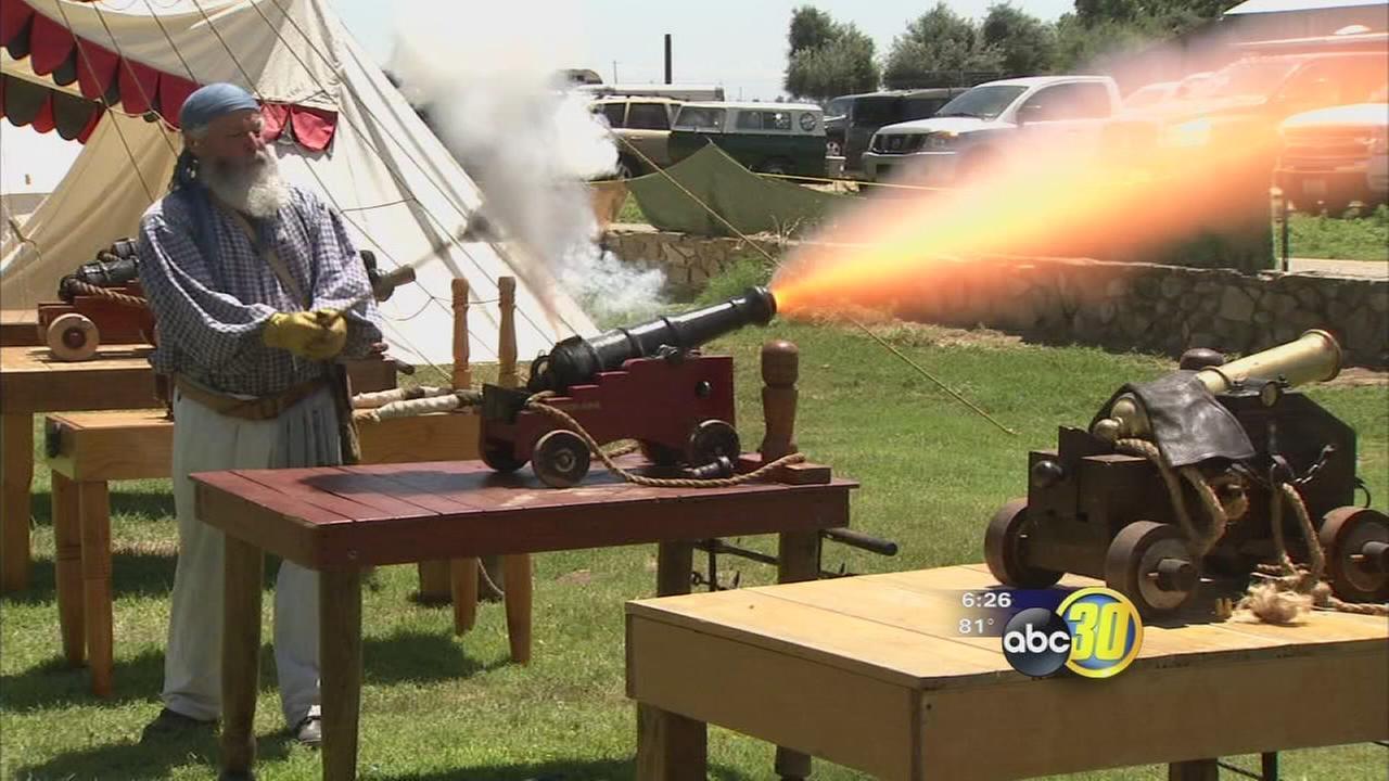 Pirate Festival makes big booms at Kearney Park