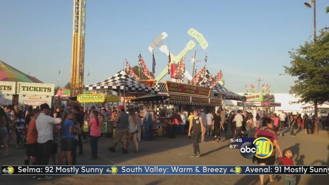 Country Nights and Carnival Lights at the Chowchilla Fair