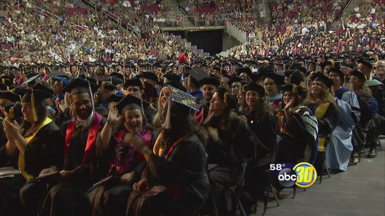 Thousands of Fresno State Bulldogs are officially college graduates