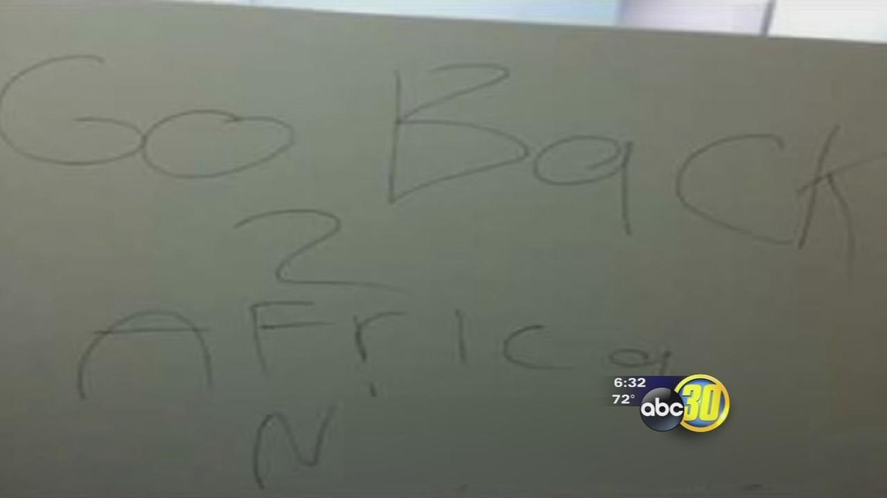 Hateful words causing pain and frustration at Clovis High