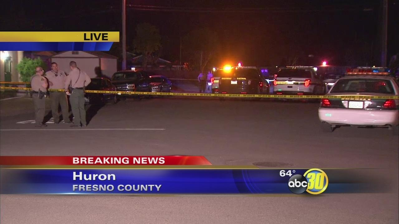 Officer involved shooting in Huron