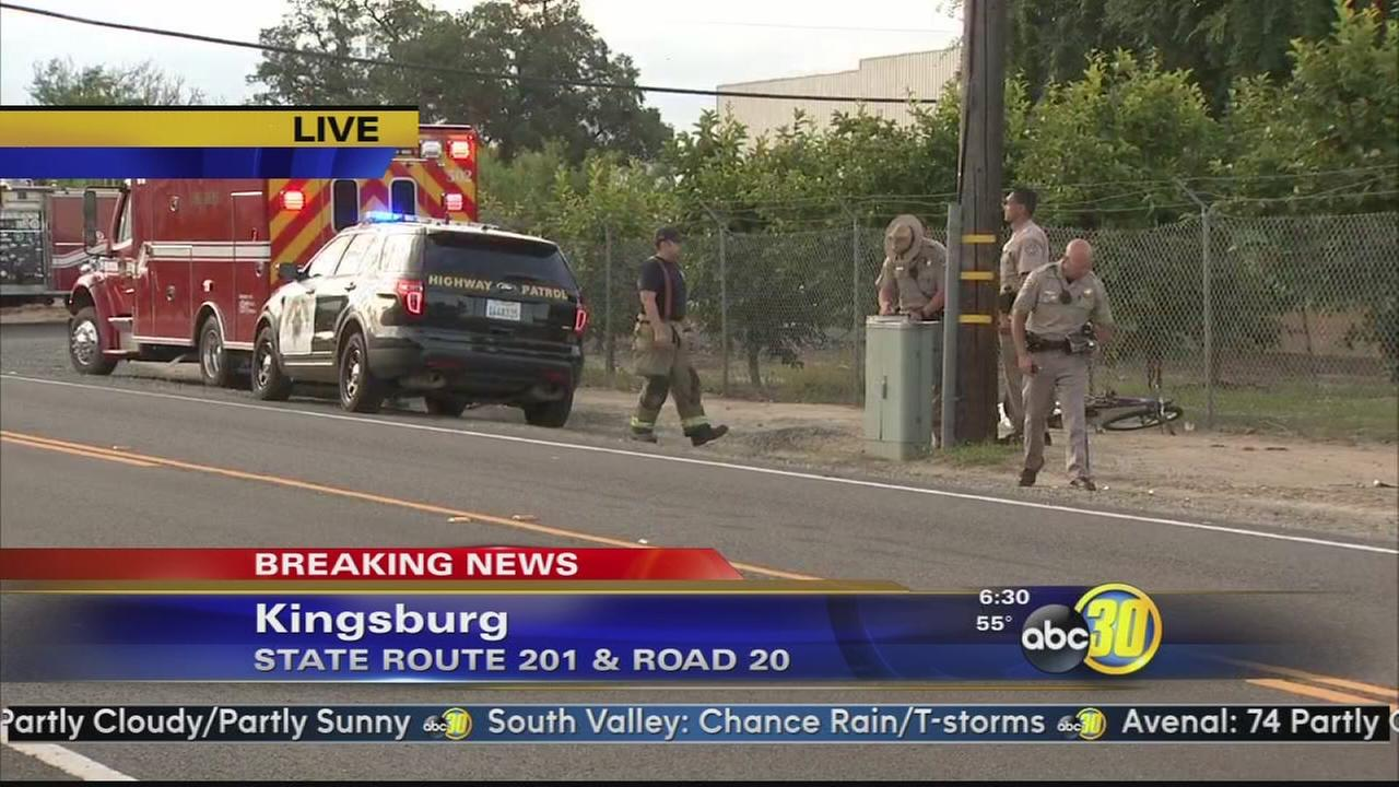 One killed in hit and run crash east of Kingsburg