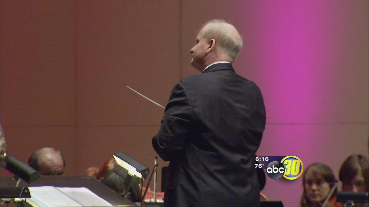 Fresno Philharmonic conductor moving on
