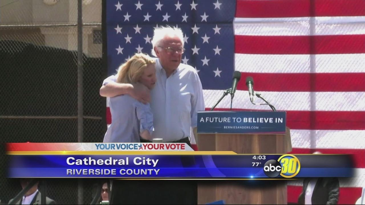 Bernie Sanders adds Fresno to California stops