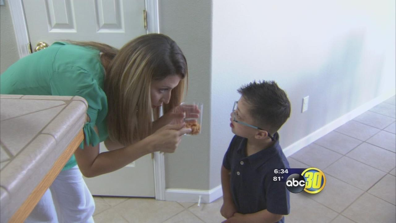 Sanger mom fights school district to keep special needs child at school of choice
