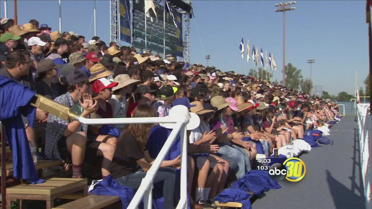 Triple digit temperatures come as hundreds of Clovis Unified seniors prepare to graduate