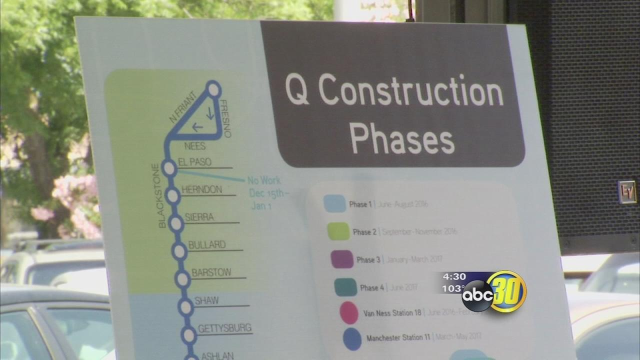 $54 million project will speed up mass transit in the busiest parts of Fresno