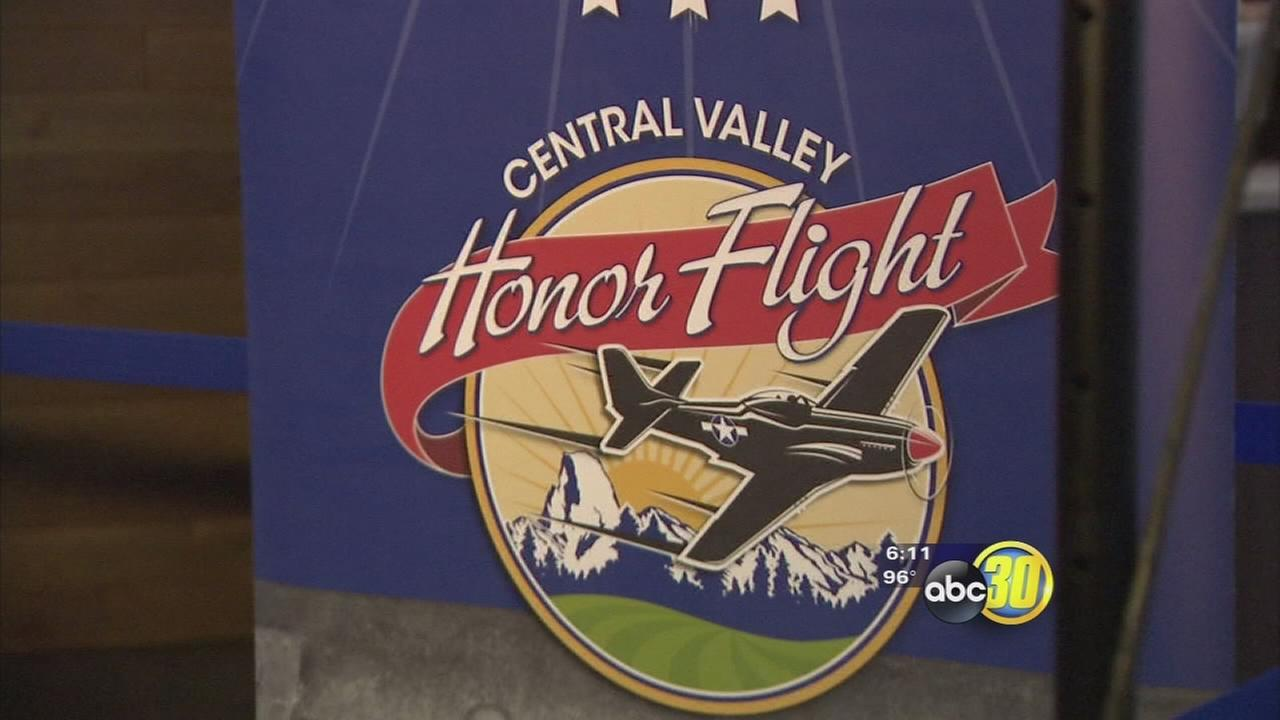 3rd Central Valley Honor flight takes off for Washington, DC