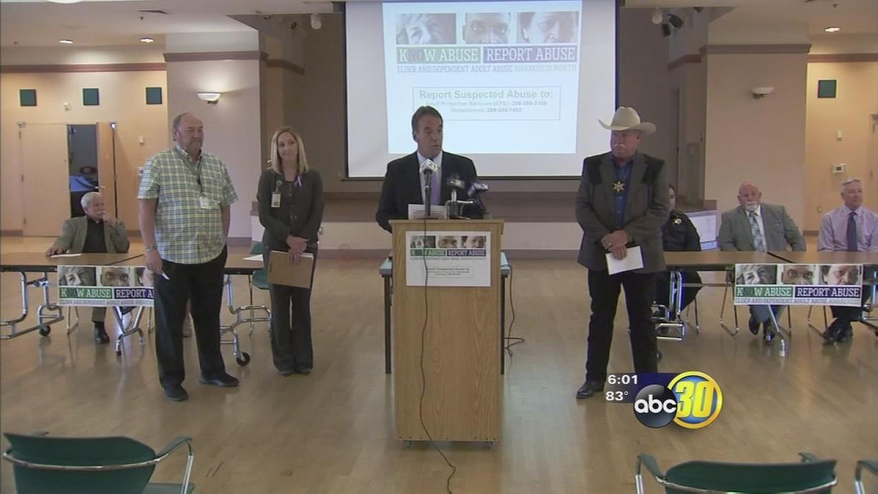 Merced community working to battle rise of elder abuse