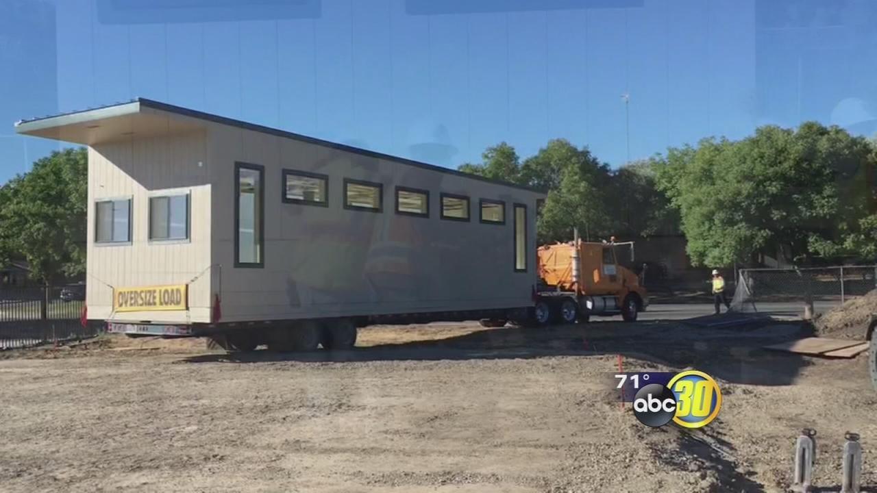 A new preschool is taking shape in Merced