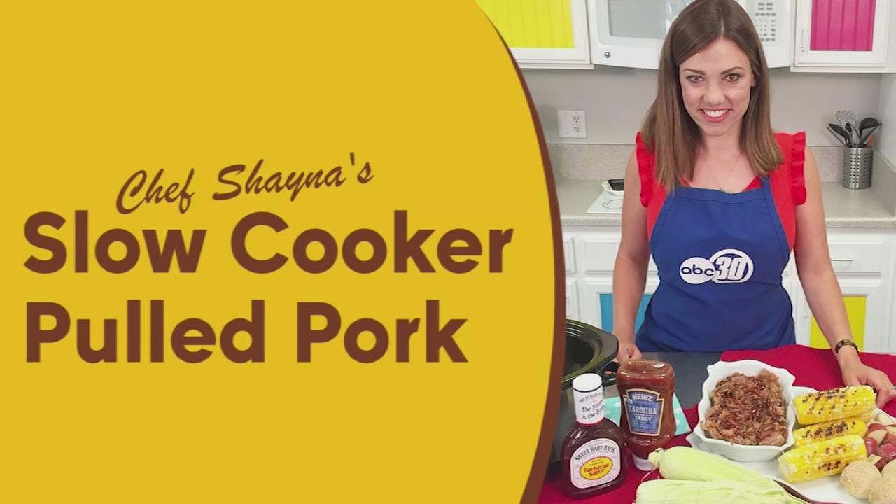 Chef Shaynas slow cooker pulled pork