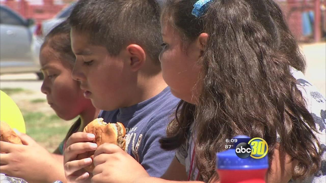 Summer Food Service program distributing meals over summer to Valley kids