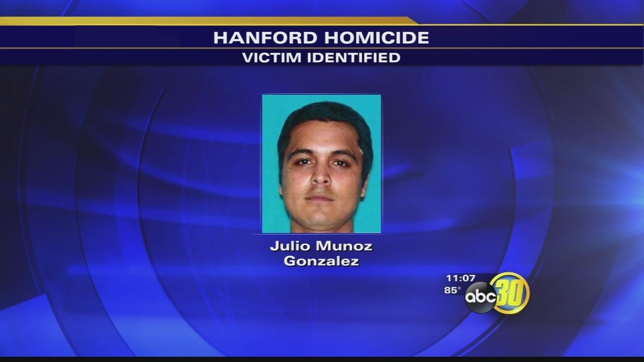 Man murdered in Hanford identified