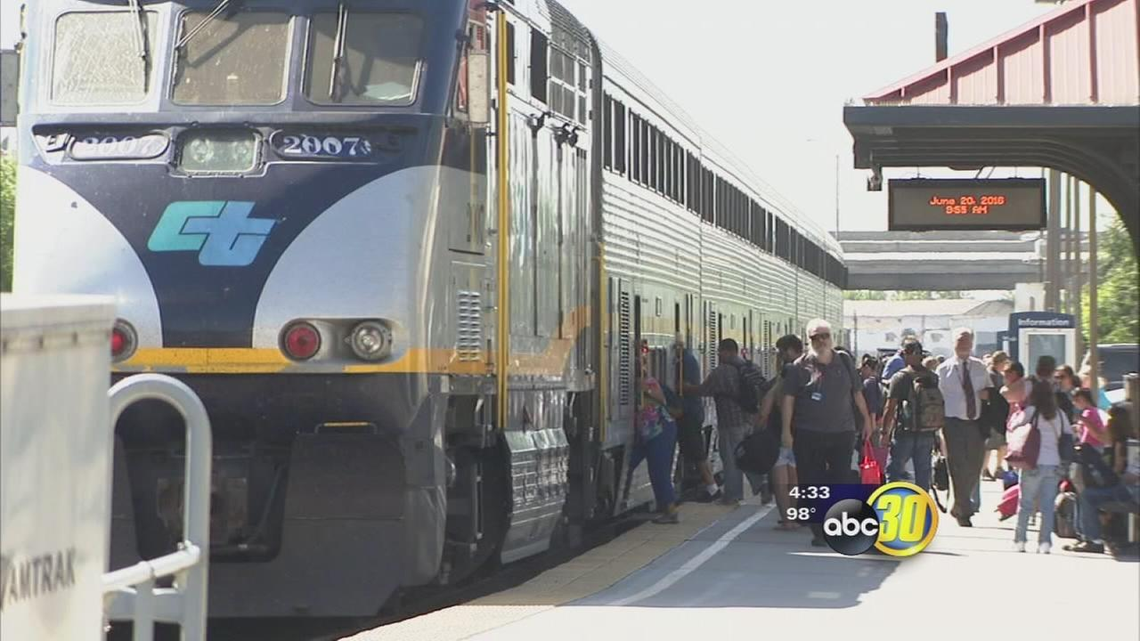 First Amtrak expansion in 14 years gives travelers a faster round-trip to Oakland from Bakersfield