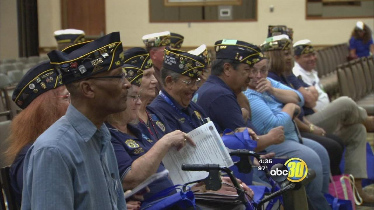 Hundreds of vets flock to downtown Fresno for American Legion Conference