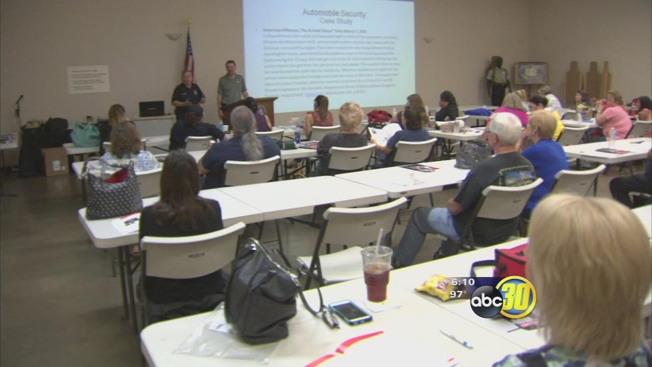 Fresno Police teaching families how to refuse to be a victim