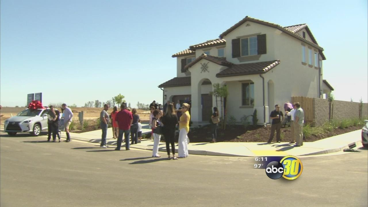 Local home builders raffling off house for good cause