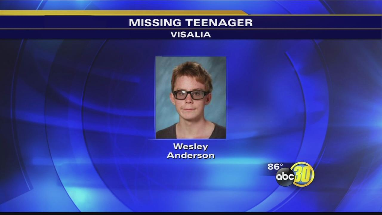 Visalia police looking for missing teen
