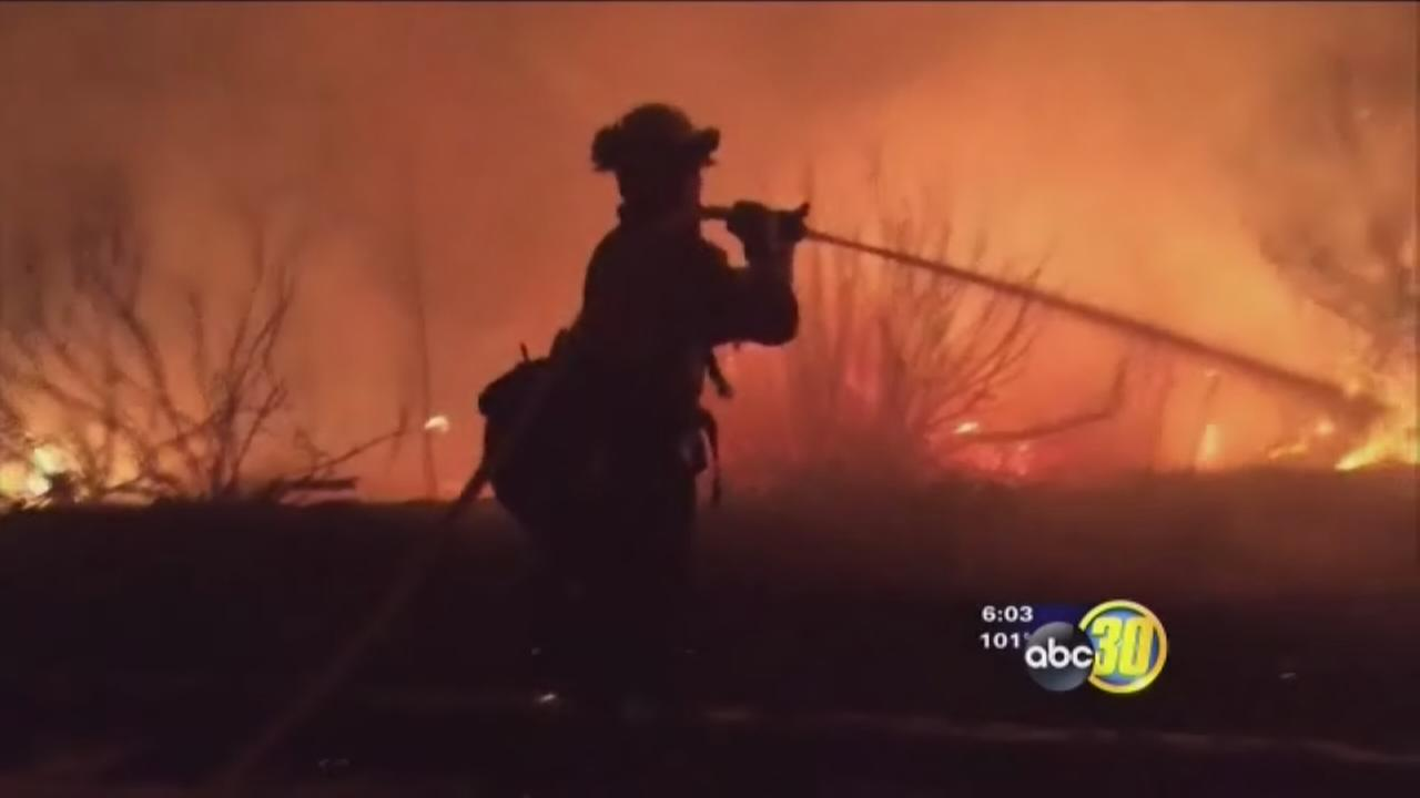 Calfire stretched thin but preparing to get upper hand on SoCal fires
