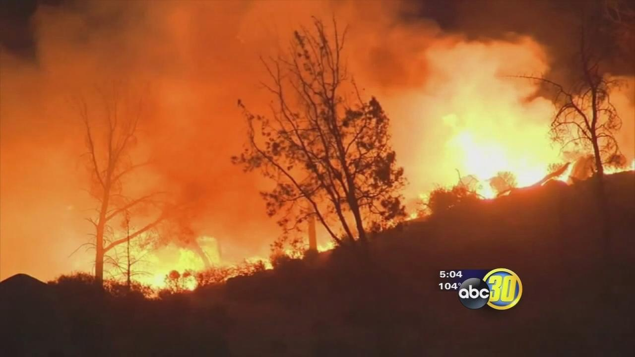 Kern County residents allowed home as firefighters make strides against wildfire