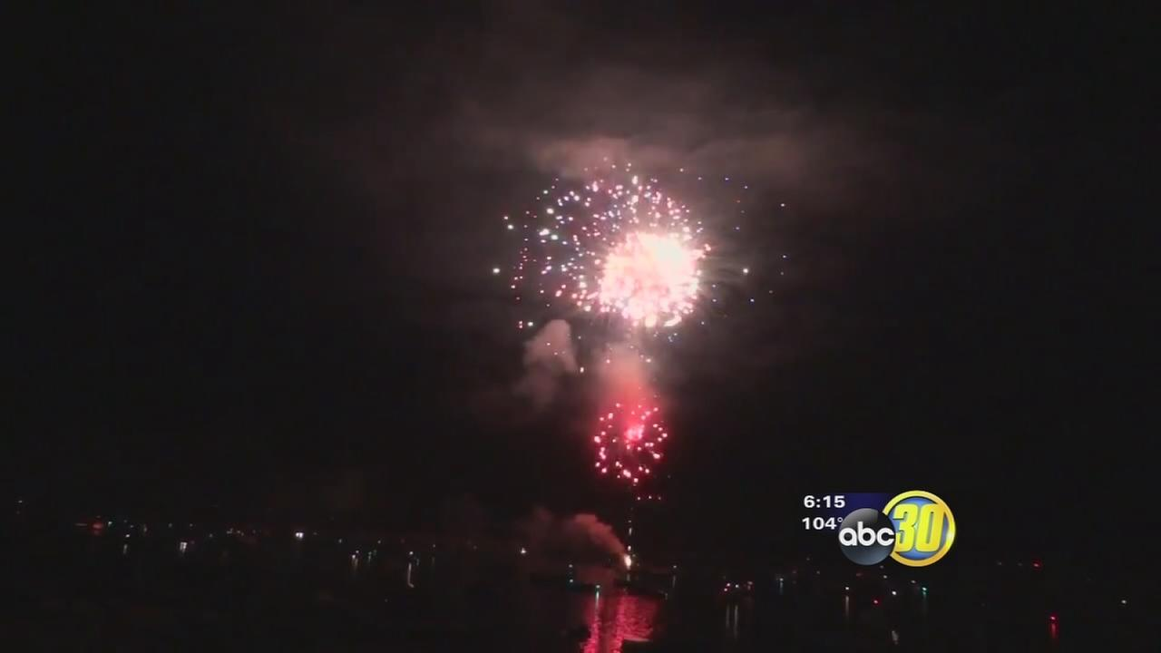 Bass Lake fireworks show back on after missing last year
