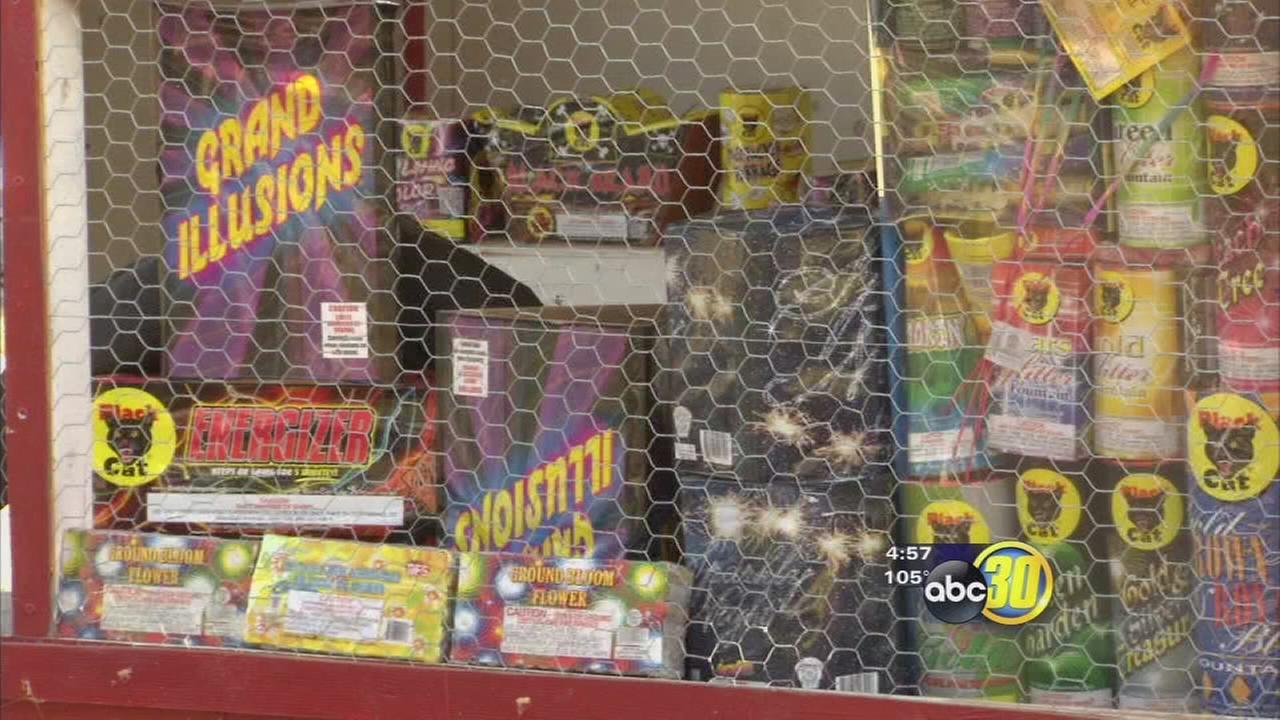 Fresno firefighters urge safety as fireworks go on sale