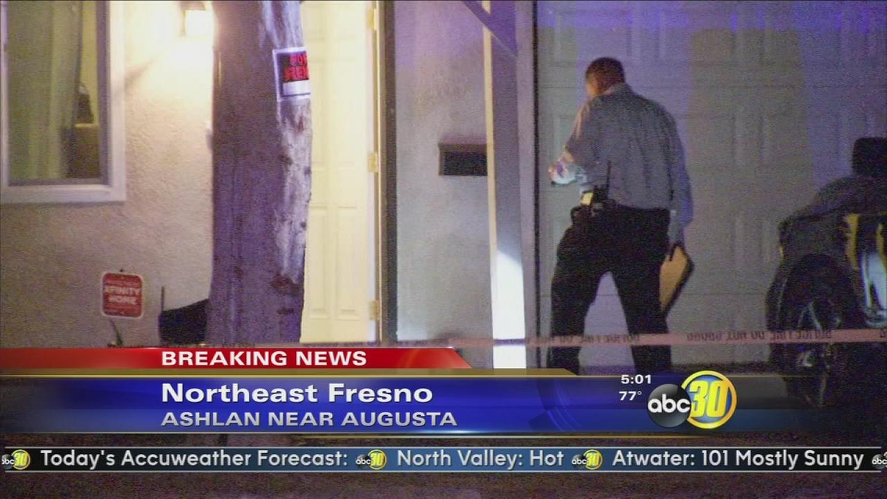 Police looking for suspect who shot a woman during a home invasion robbery in Northeast Fresno