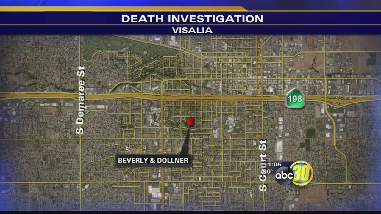Visalia police investigating death of man found in pool