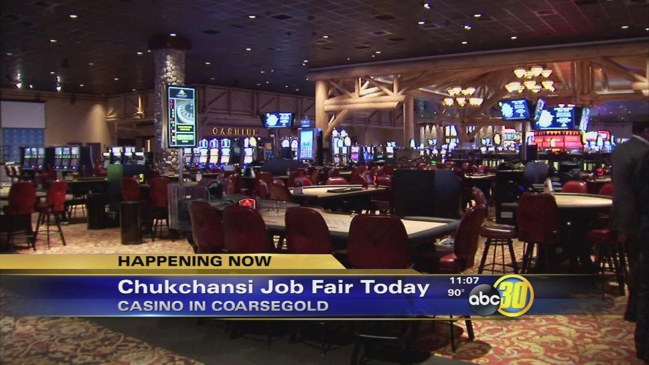 Chukchansi holding on-the-spot interviews to hire more than 70 employees