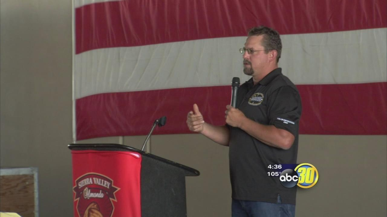 Marine recounts Benghazi attack experience in Madera