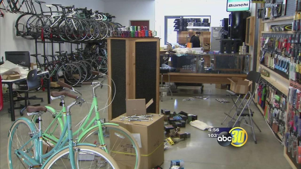Bike shop relocates in Hanford after break-ins in Downtown Fresno