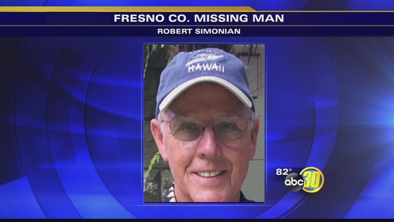 Authorities look for missing man training for a hike